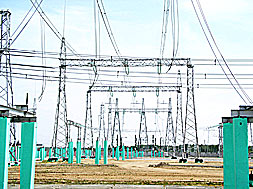 "500 kV Substation ""Berkut"" with Approaches to OHTLs 500, 220 and 110 kV"